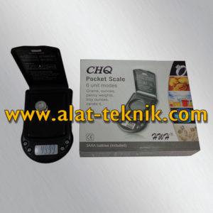 pocket scale chq - glodok teknik