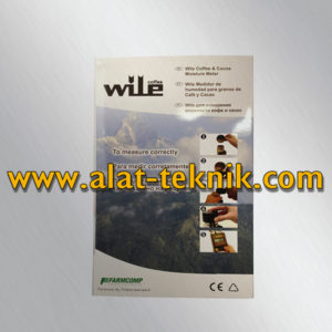 Wile Coffee and Cocoa, Jual Wile Coffee and Cocoa Moisture Meter - Glodok Teknik Indonesia
