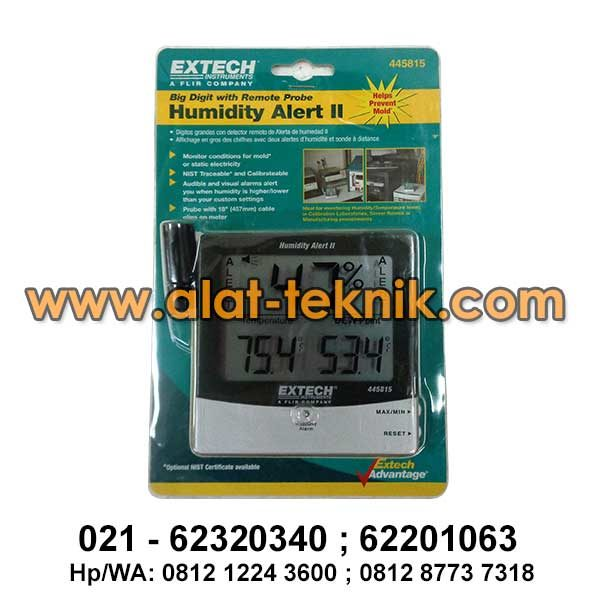 Thermohygrometer Extech 445815