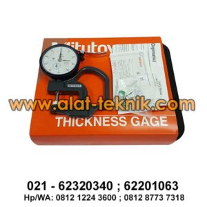 Dial Thickness Gauge Mitutoyo